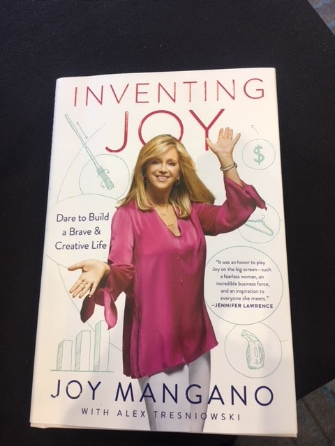 I learned some things and met new people including Joy Mangano! -