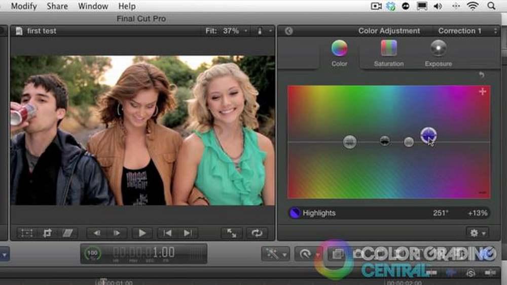 Color correction: 3 free beginner final cut pro x tutorials.
