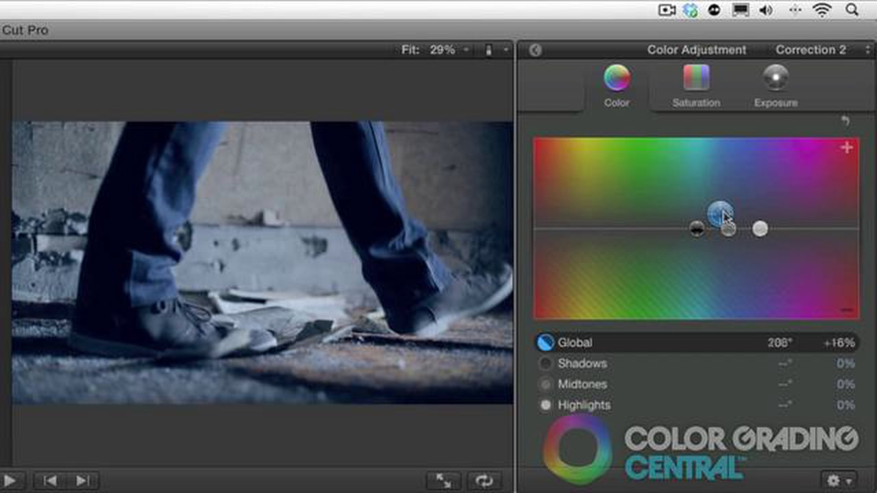 Final Cut Pro X Color Grading — Color Grading Central