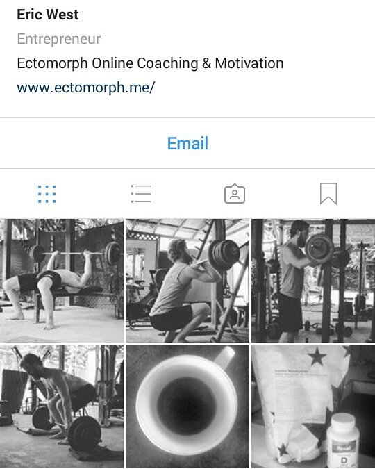 Check out my other page @ectomorph.me for daily motivation!  #Ectomorph #EctomorphTransformation #EctomorphWeightGain #Skinny #SkinnyToMuscle #SkinnyToFit #SkinnyToStrong #SkinnyToThick #SkinnyGuy #SkinnyGirl #EctomorphDiet #MuscleBuilding #BodyBuilding #BodyBuildingTransformation #MuscleBuildingTransformation #Workout #WorkoutModivation #Motivation #WeightGainTransformation #WeightGain #MuscleGain #WeightLifting #Gains #Gainz #Musculation #HardGainer #HardGainerArmy