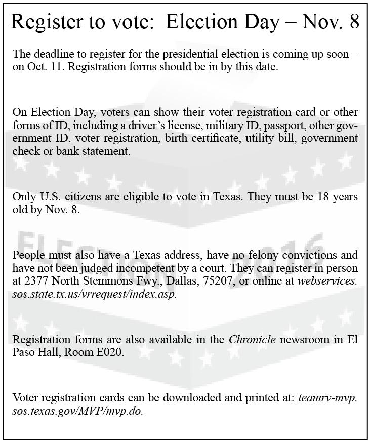 Register To Vote Election Day Nov 8 Richland Student Media