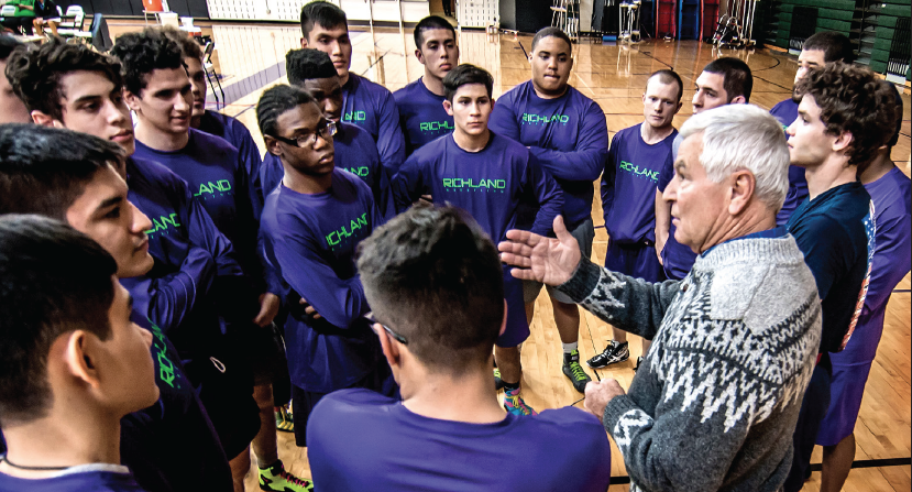 Coach Bill Neal named coach of the year by the National Collegiate Wrestling Association.