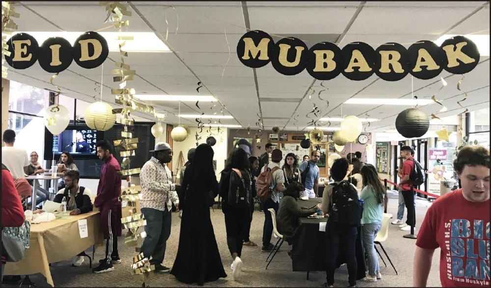 Eid Mubarak celebration on Sept.6 in honor of Eid Al Adha holiday.