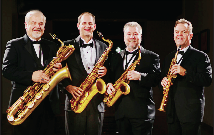 The Texas Saxophone Quartet played at Richland on Sept. 19.