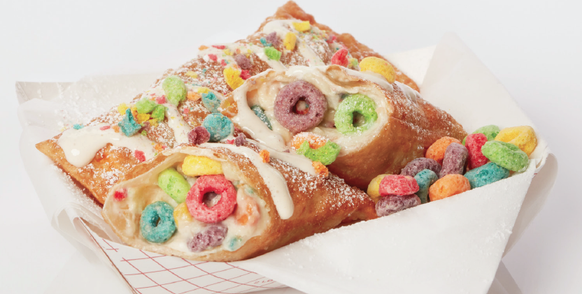 Deep Fried Froot Loopswere on the menu this year.