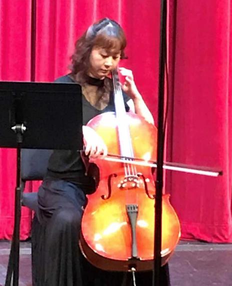 Wan Ju Wang – cello