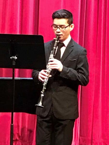 Chi Nguyen - clarinet