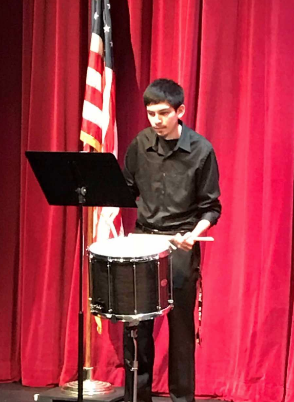 Destin Ramos – snare drum