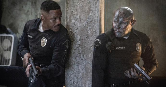 "Will Smith and Joel Edgerton in ""Bright."" (2017)"