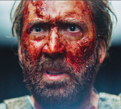 "Nicolas Cage stars in the bizarre fantasy, ""Mandy."""