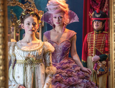 "Keira Knightley and Mackenzie Foy star in ""The Nutcracker and the Four Realms"""
