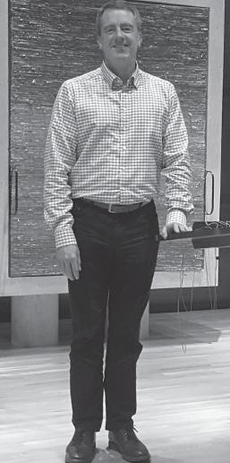 Mike Sims, Temple Emanu-El president.