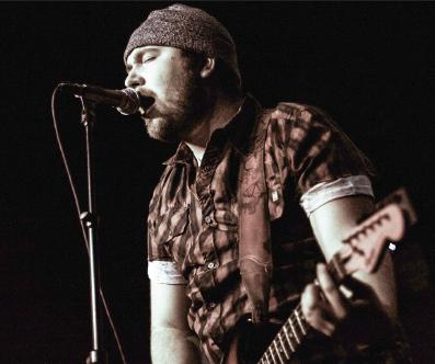 Cade Vandare of Slow Vine sings at the Prophet Bar in Deep Ellum on Feb. 17.