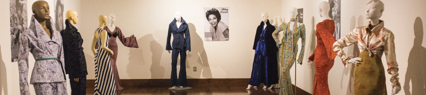 """The exhibit """"Black Beauty, Glitz and Glamour"""" is on view at South Dallas Cultural Center through March 23."""