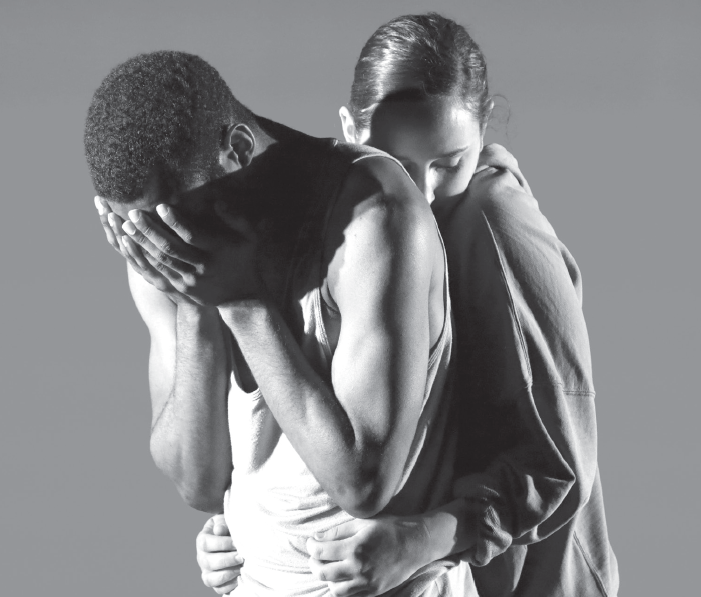 "Dancers Lena Oren and Jaiquan S. Laurencin perform in the routine ""Coyotes Tip-toe""."