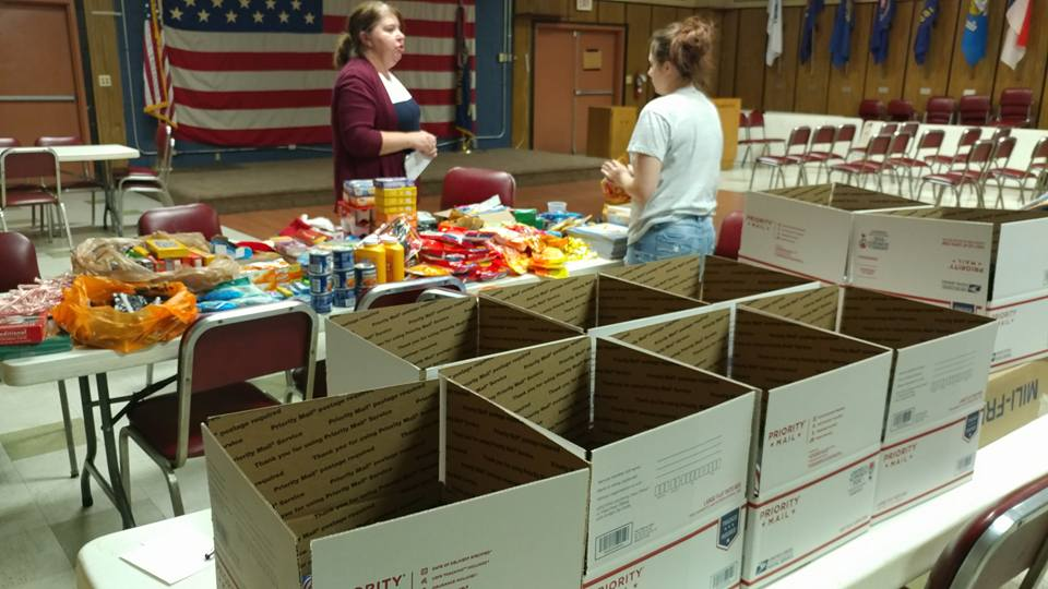 2016 Winter Holiday Care Packages