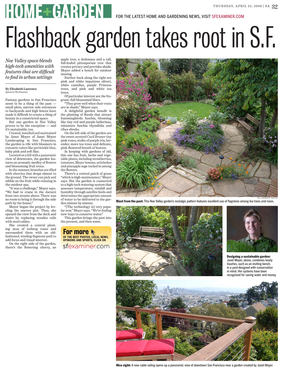 - Flashback Garden Takes Root In S.F. — Janet Moyer Landscaping