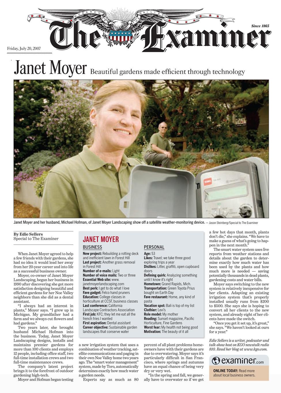 Janet Moyer: Beautiful gardens, efficient through technology — Janet Moyer  Landscaping - Janet Moyer: Beautiful Gardens, Efficient Through Technology — Janet