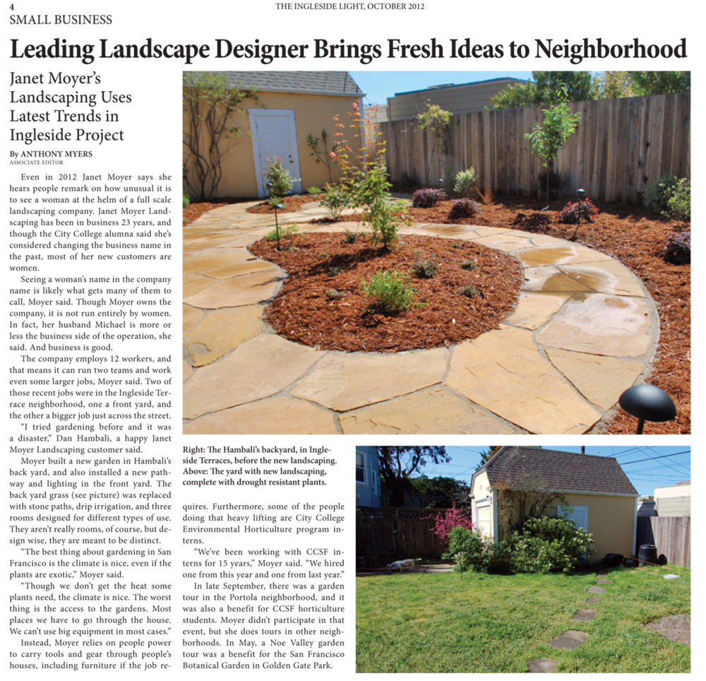 Leading Landscape Designer Brings Fresh Ideas to Neighborhood - Articles — Janet Moyer Landscaping