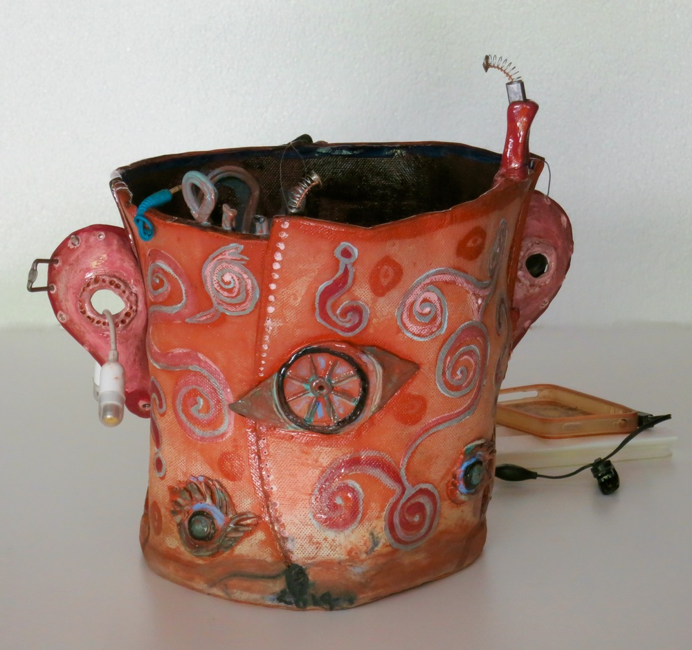 U R Subject to Random Search, mixed media earthenware, back view_1471.jpg