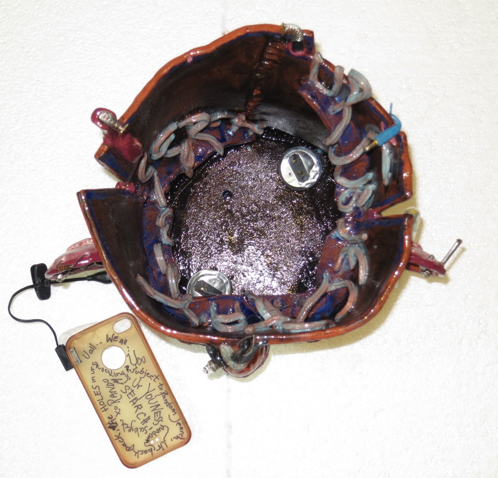 U R Subject to Random Search, mixed media earthenware, top view_1748.jpg