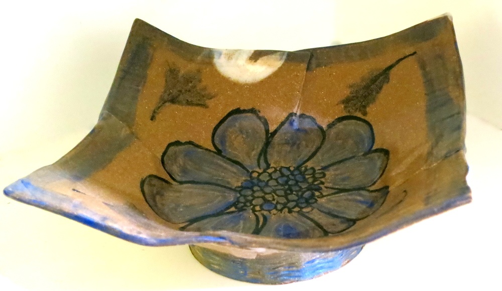 Blue Flower bowl