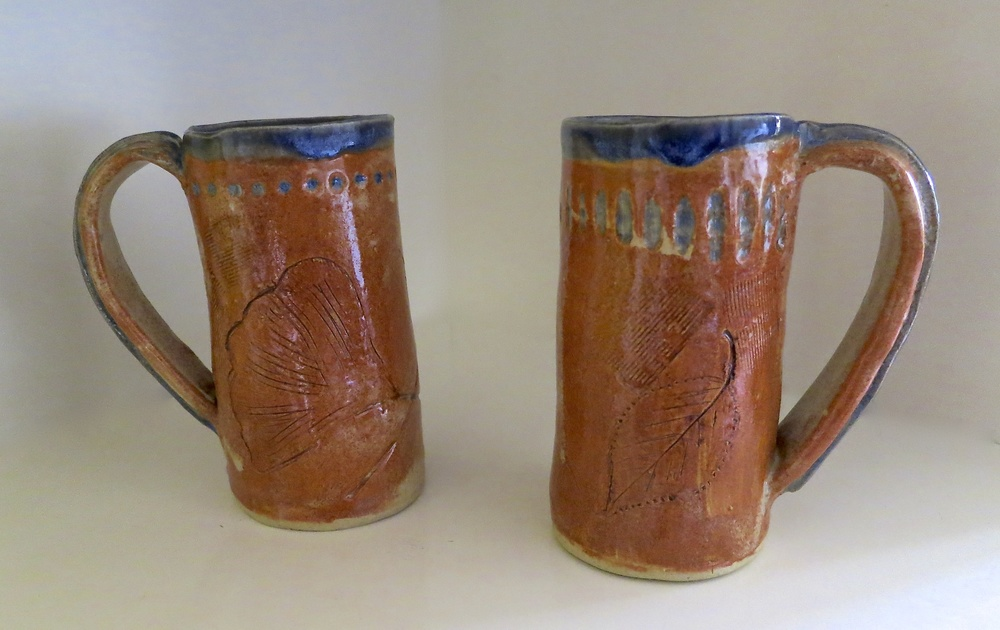 Leaf tall mugs