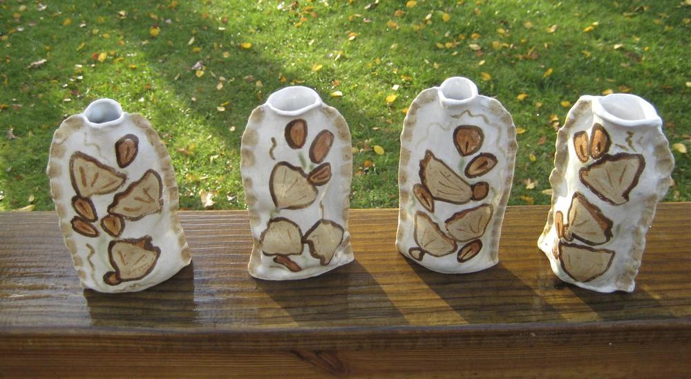 Fan vases