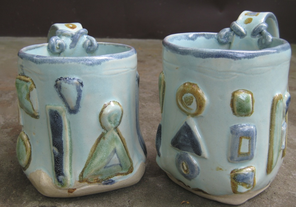 Jewel mugs