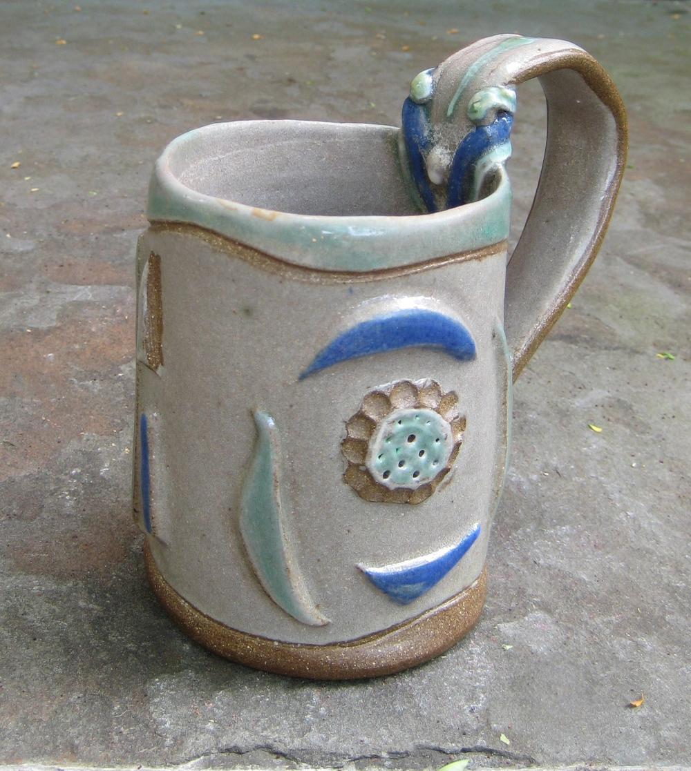 Cylinder jewel mug