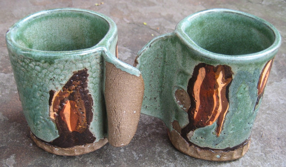 Wrap mugs inspired by Half Moon Bay, California