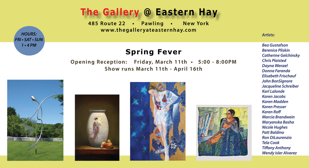 Join me at the opening reception on Friday, March 11, 5-8PM