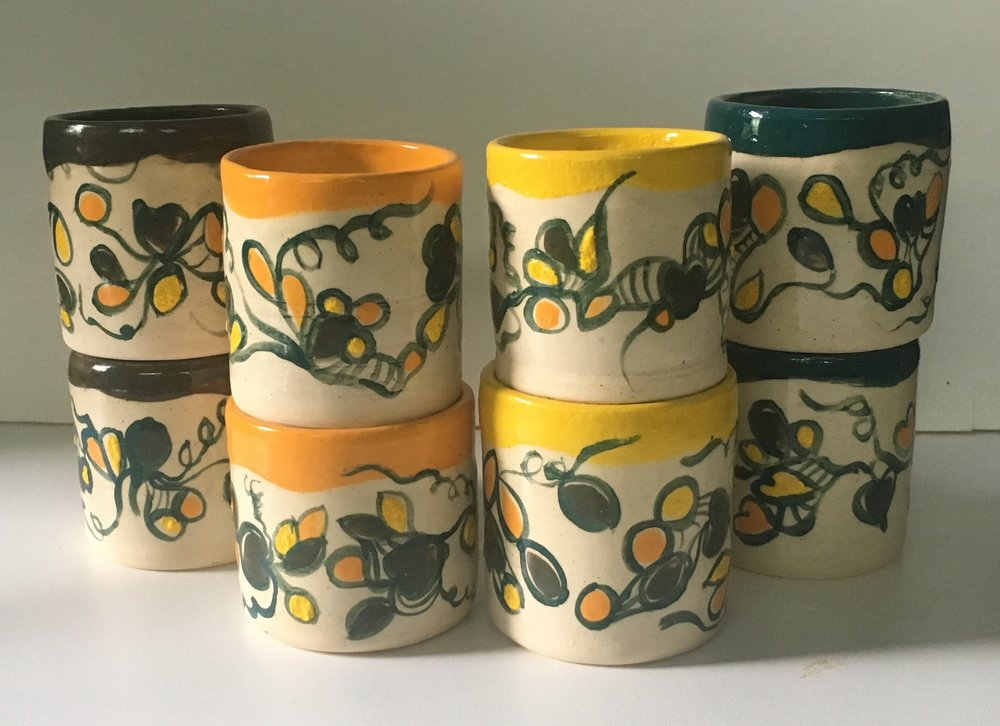 Eight Happy Tumblers, 2018