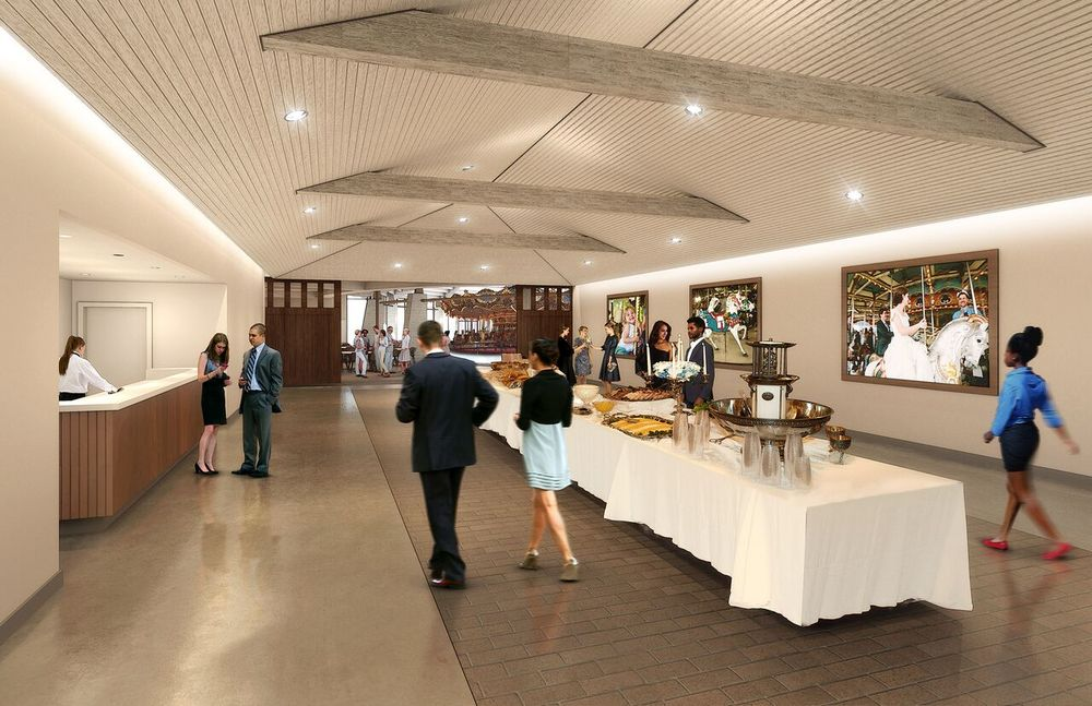 Rendering of the Pre-function space