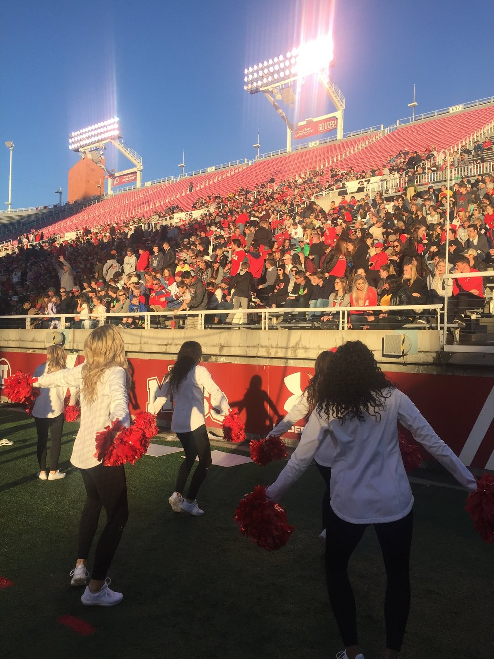 Utes fans witnessed history at Rice-Eccles Stadium in Salt Lake City