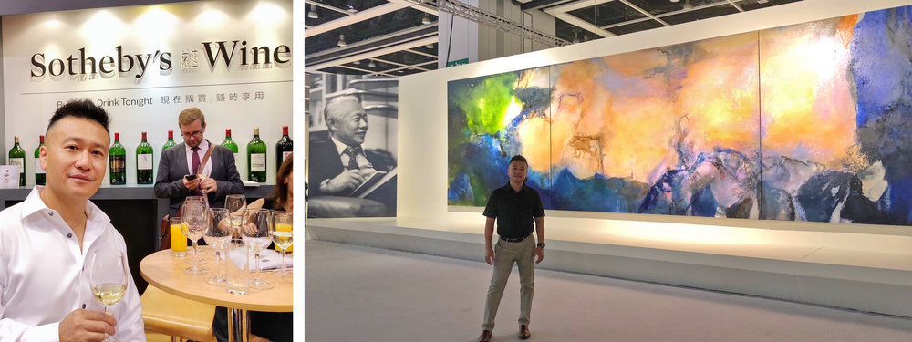 The Sotheby's Asian Arts Auction held at the Hong Kong Convention Center commanded record-breaking sales prices on a number of pieces.