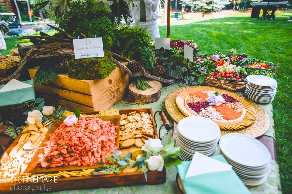 Northwest Appetizer Table