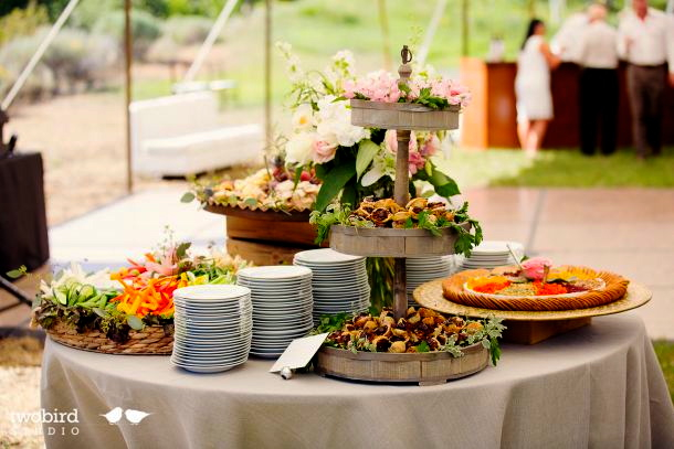 Appetizer Table.