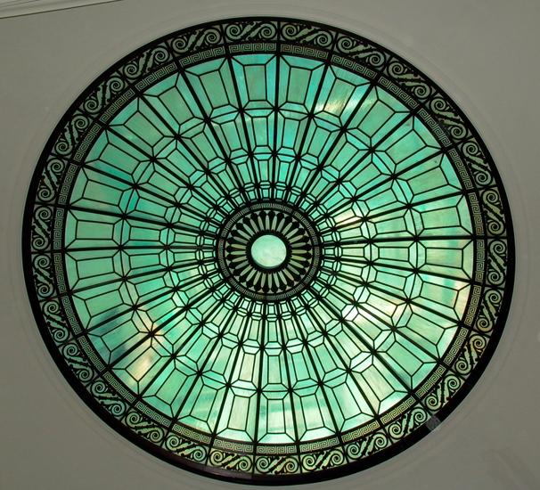 Scroll Bronze Skylight