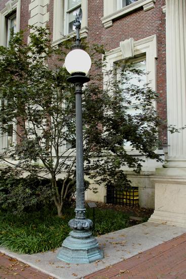 Cast Exterior Lamp Post