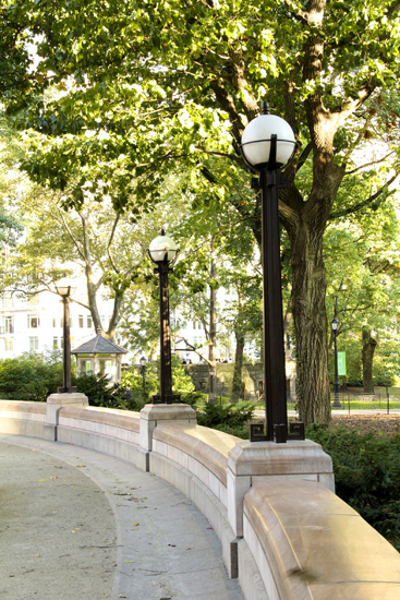 Cast Lamp Post