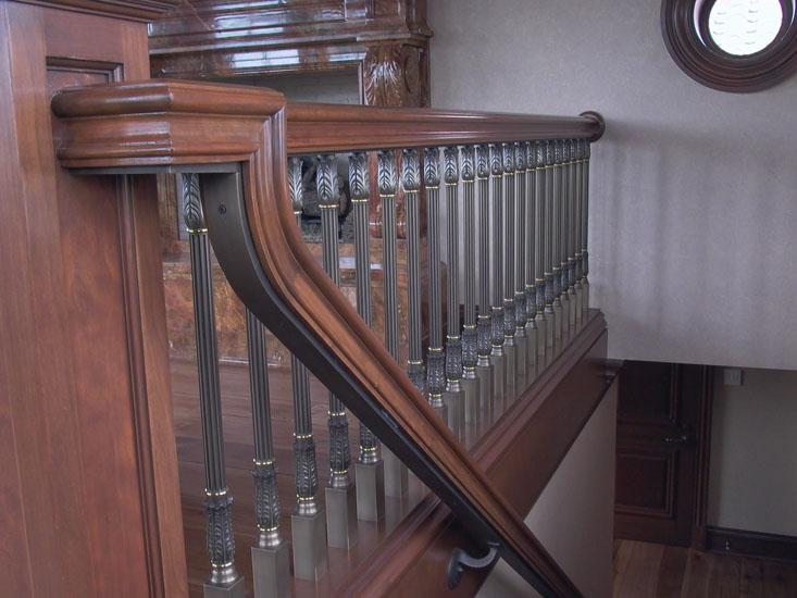Cast Interior Railing