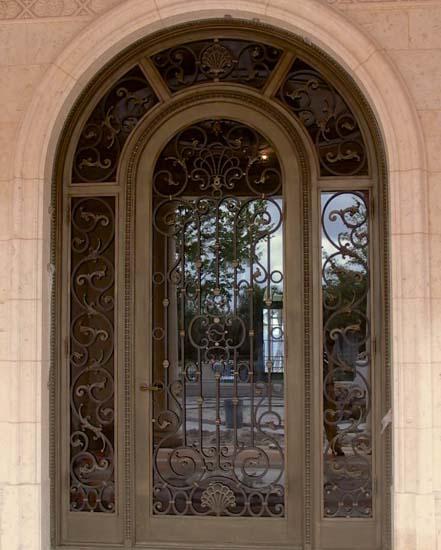 Bronze Exterior Door