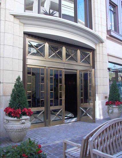 Bronze Entry Doors