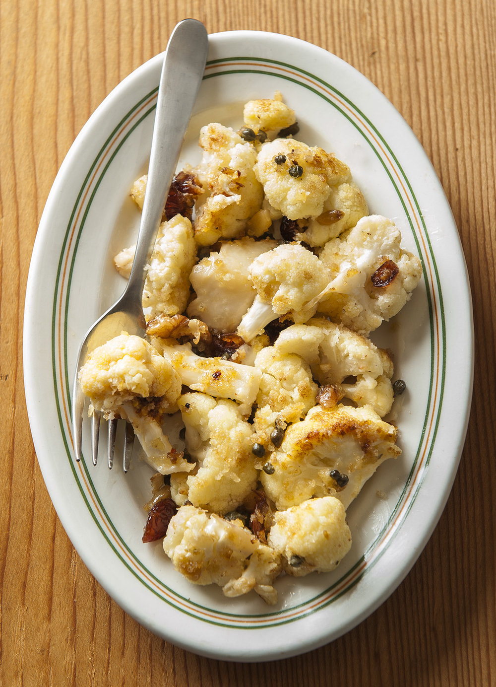 Pan Roasted Cauliflower photo by Mette Nielsen
