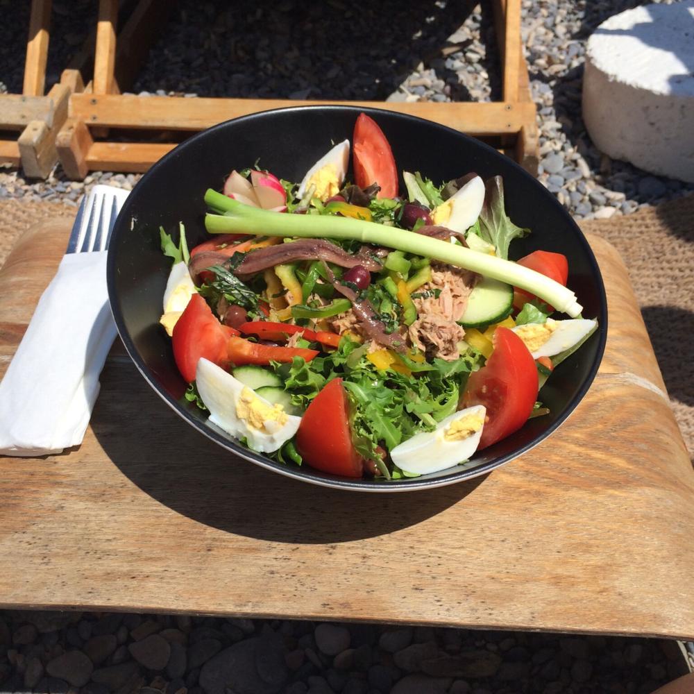 Salade Niçoise from Paloma Beach restaurant