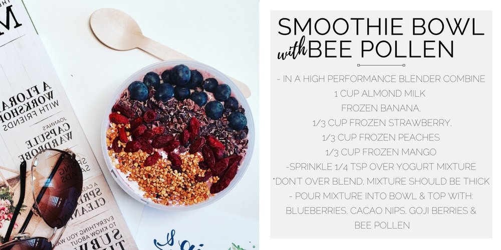 smoothie_bowl_with_bee_pollen_curated_health_coach