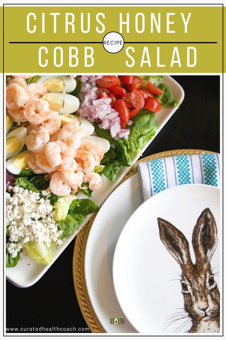 honey-citrus-cobb-salad-curated-health