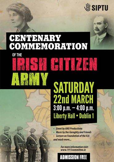 Irish Citizen Army Commemoration Performance, Liberty Hall Dublin, 2014 - A physical theatre performance created with Louise Lowe and ensemble members from Anu Productions, honouring the actions of the Irish Citizen Army during the 1916 rising.
