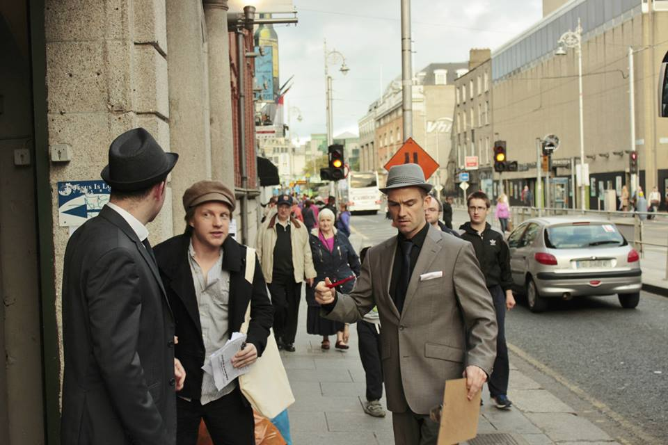 Culture Night Film Noir Experience, Dublin, 2015  - A short Film Noir sketch in collaboration with Flying Turtle Productions in celebration of Culture Night 2015.